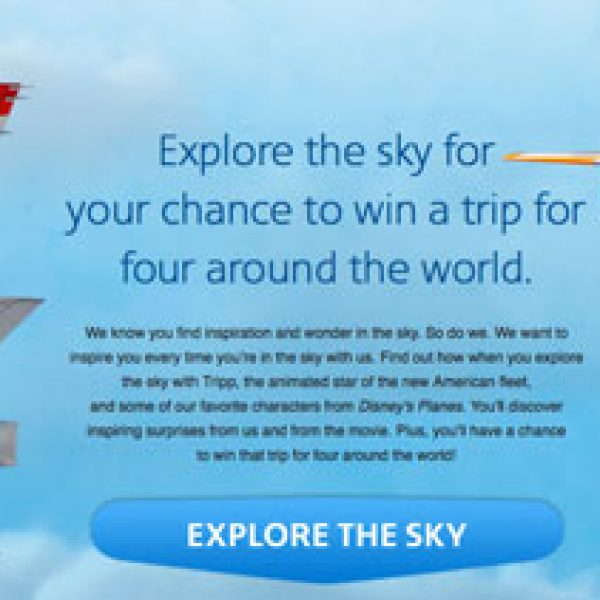 Win Enough Airline Miles to Take a Trip Around the World!