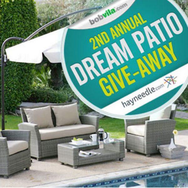 Bob Vila 2nd Annual Dream Patio Giveaway!
