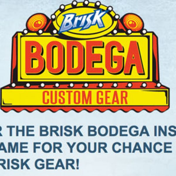 Pepsi and Lipton Tea Brisk Bodega Instant-Win Sweepstakes!