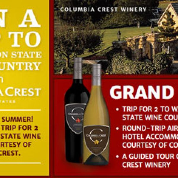 Discovery's Win a Trip to Washington State Wine Country Sweepstakes!