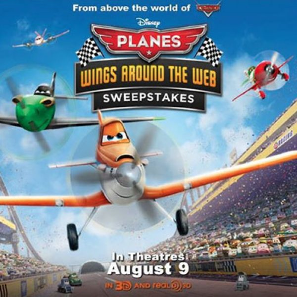 Disney Planes Wings Around the Web Sweepstakes!
