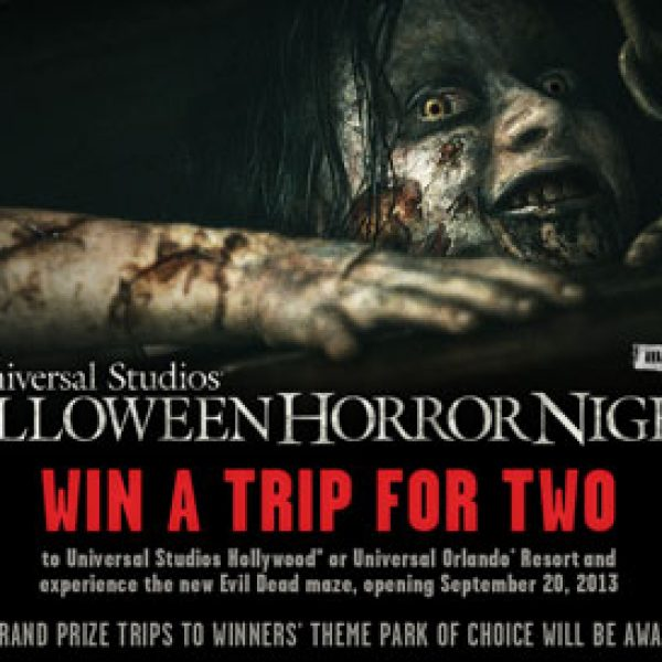 Universal Studios Halloween Horror Nights Evil Dead Sweepstakes!