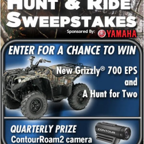 Field and Stream Hunt and Ride Sweepstakes!