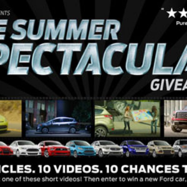 Ford 2013 Ford Summer Spectacular Sweepstakes!