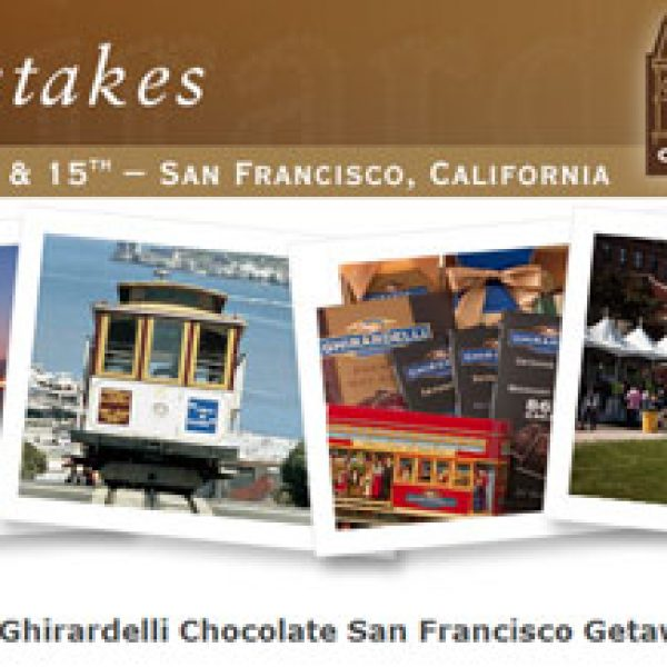Ghirardelli Chocolate's San Francisco Getaway Sweepstakes