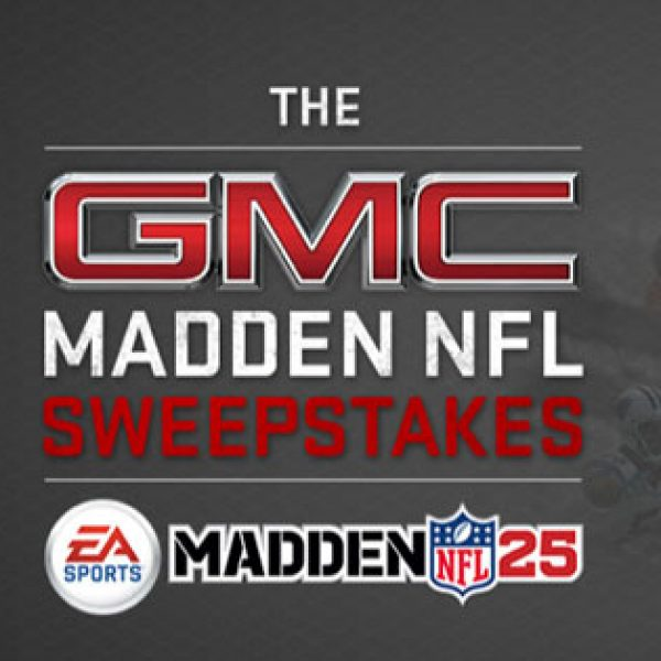 GMC Madden NFL Sweepstakes!