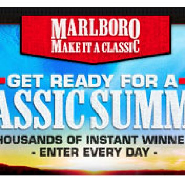 Marlboro Make It a Classic Sweepstakes!