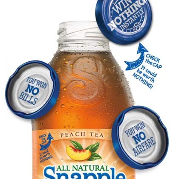 Snapple's Win Nothing Sweepstakes