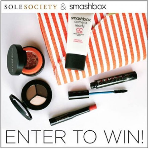 The Smashbox Cosmetics giveaway!
