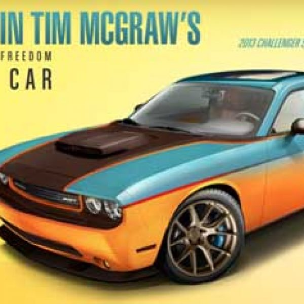 Win a 2013 Dodge Challenger SRT