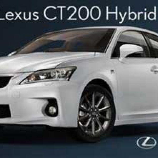 Win a $32,000 Lexus Hybrid