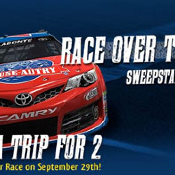 Last Chance! Win a Trip for 2 to the Sprint Cup Race in Dover!