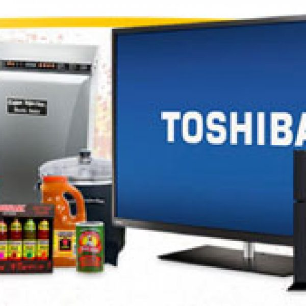 """Win a Toshiba 50"""" LED 1080p HDTV, a Sony Playstation 4 and More!"""