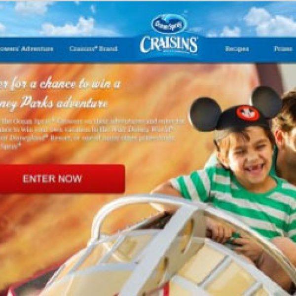 Win Trips to Disneyland or Disney World!