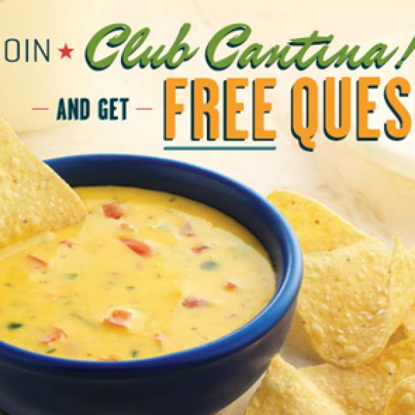 Free Chips and Queso at On the Border Mexican Grill