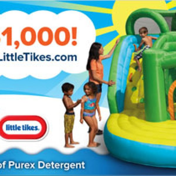 Win $1,000 in Toys and a year's worth of Purex!