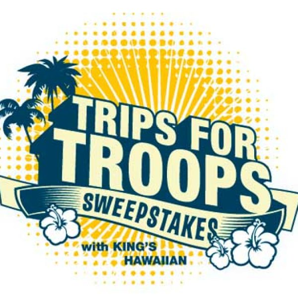 King's Hawaiian's Trips for Troops Sweepstakes!