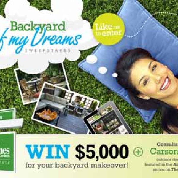 Win a $5,000 Backyard Makeover