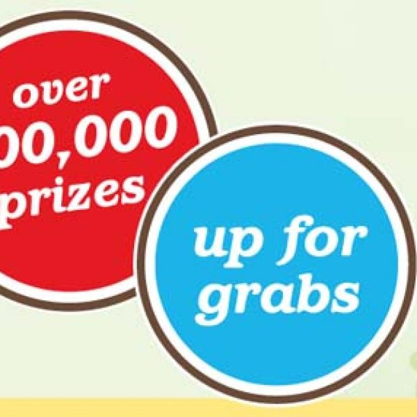 Win $50,000 or Hundreds of Prizes