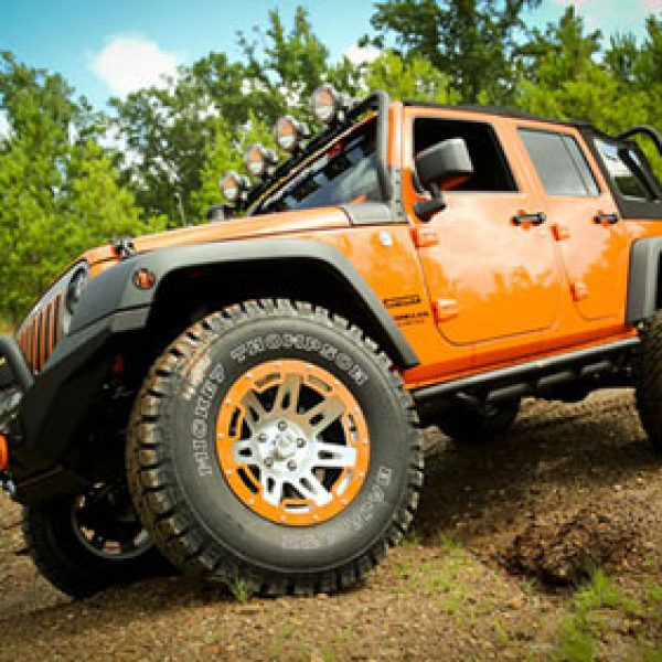 Win a Tricked Out 2013 Jeep Wrangler Unlimited From Amazon!