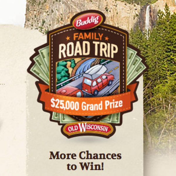 Buddig Family Road Trip Sweepstakes!