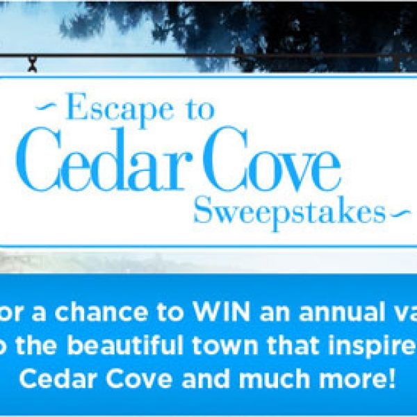 Hallmark Channel Escape to Cedar Cove Sweepstakes!
