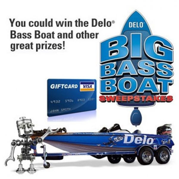 Chevron 2013 Delo Bass Boat Sweepstakes!