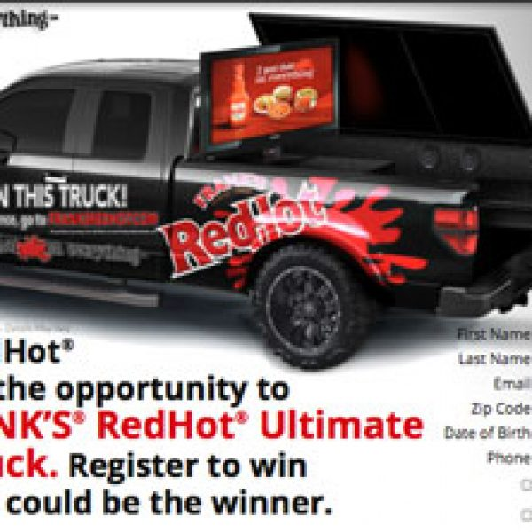 Win a $34,000 Truck Customized with a Grill, Television, and More!