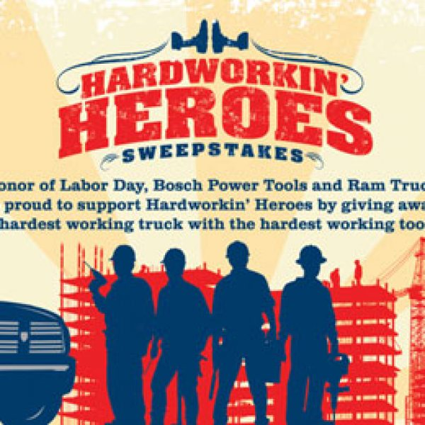 Win a 2014 Ram Truck and a Selection of Bosch Tools!