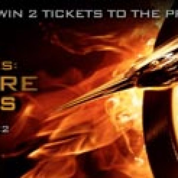 Hunger Games Catching Fire Sweepstakes