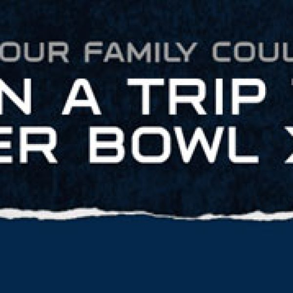 Win a $25,800 Trip to the 2014 Super Bowl!