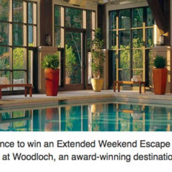 Win a Free Spa Vacation worth $4,900!