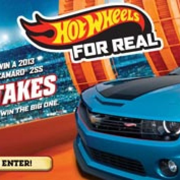 Win a Real Life Hot Wheel Chevy Camaro ZSS!