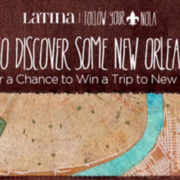 Last Chance! Win a 2-night Trip for Five to New Orleans