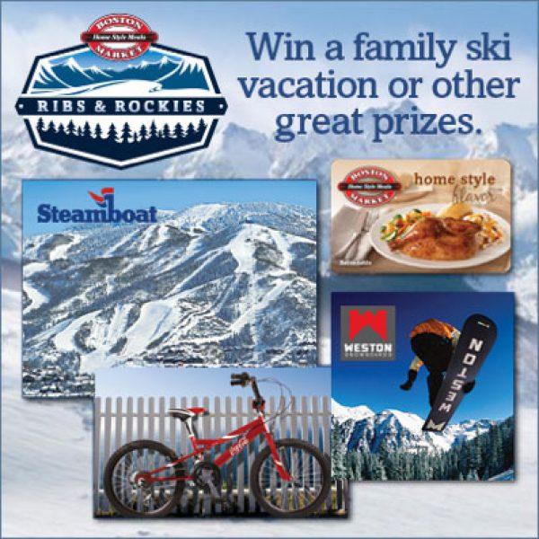 Win a Ski Getaway in Colorado!