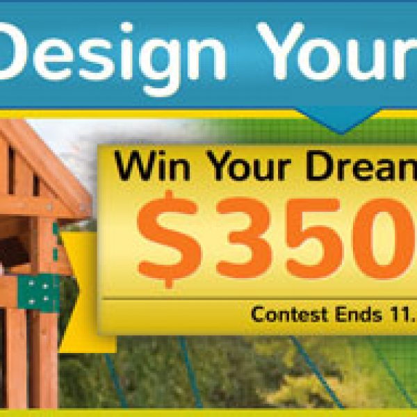 Win a Backyard Odyssey Swingset Worth $3,500!