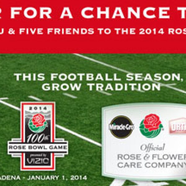 Win a trip to the Rose Bowl!