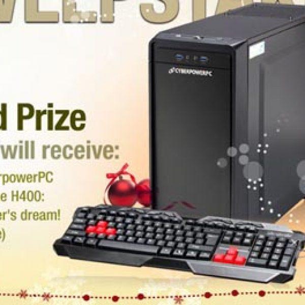 Win a CyberpowerPC Gamer Xtreme Computer!