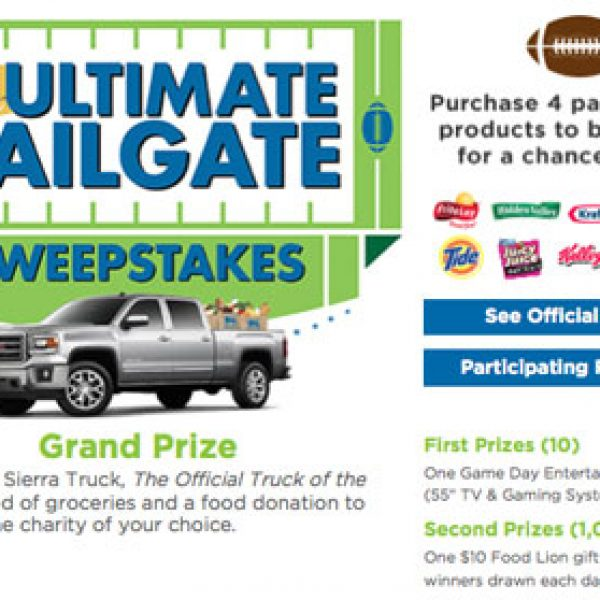Win a 2014 GMC Sierra Truck SLT 4X4 and More!