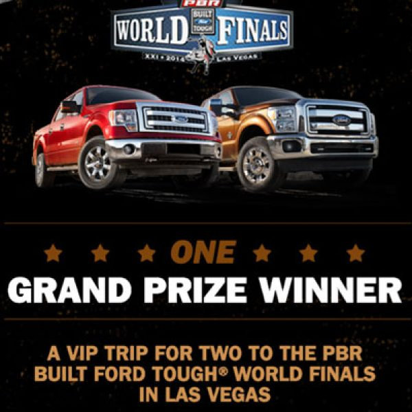 Win a 2014 Ford F-150 and a Trip for Two to Las Vegas!