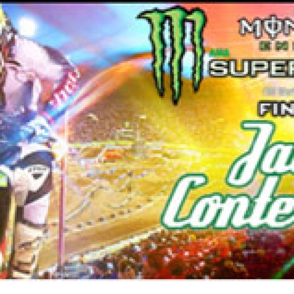 Win a Trip to Las Vegas for the Monster Energy Supercross Finals!