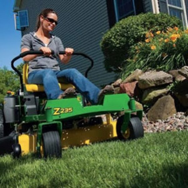 Win a Riding Mower and a Custom Garage Storage System!