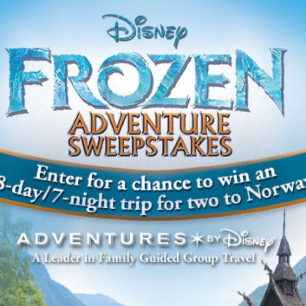 Win a $12,500 trip to Norway hosted by Adventures by Disney!