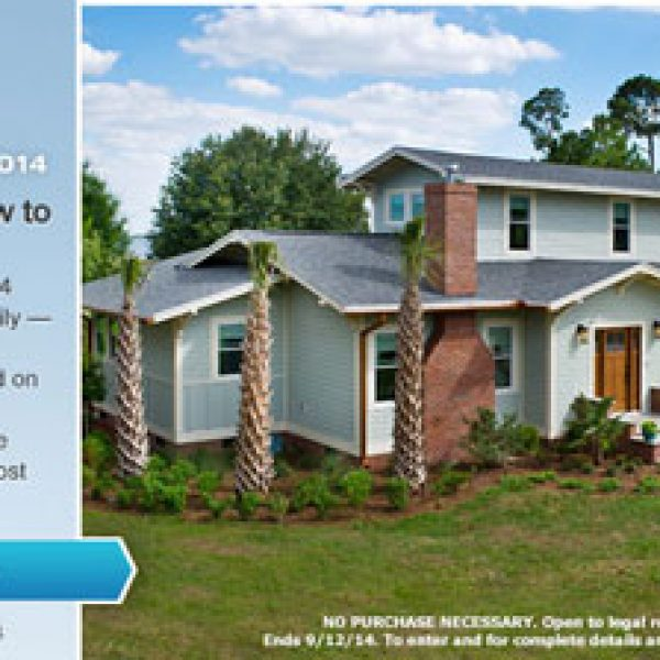Win HGTV's Blog Cabin Bungalow and Cash!