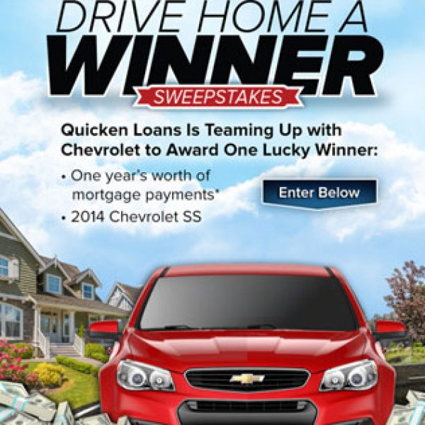 Win a 2014 Chevrolet SS and a Year's Worth of Mortgage Payments!