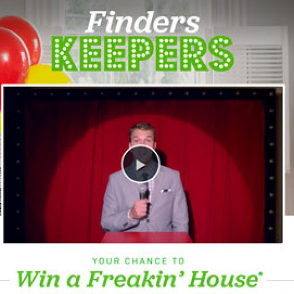 Win $350,000 Cash to buy the Home of your Dreams!