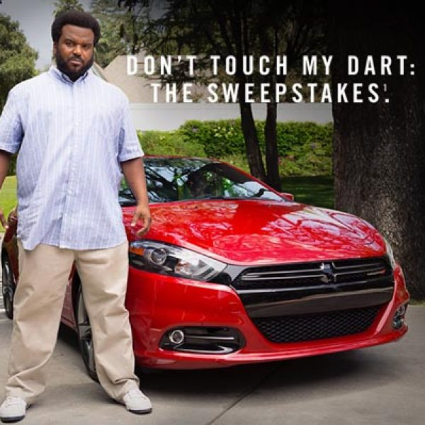 Don't Touch My Dart Sweepstakes!
