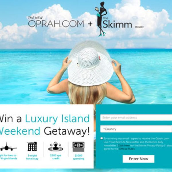 Oprah: Win a trip for two to the U.S. Virgin Islands
