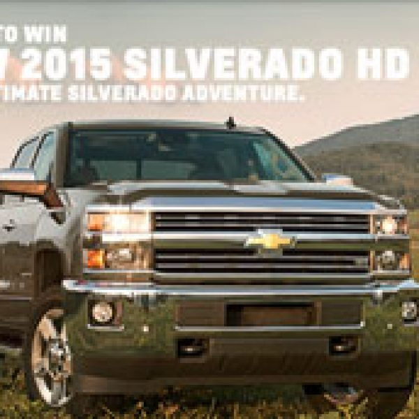 Win a Chevy Silverado, a trip to Talladega Superspeedway, and a Dune Buggy