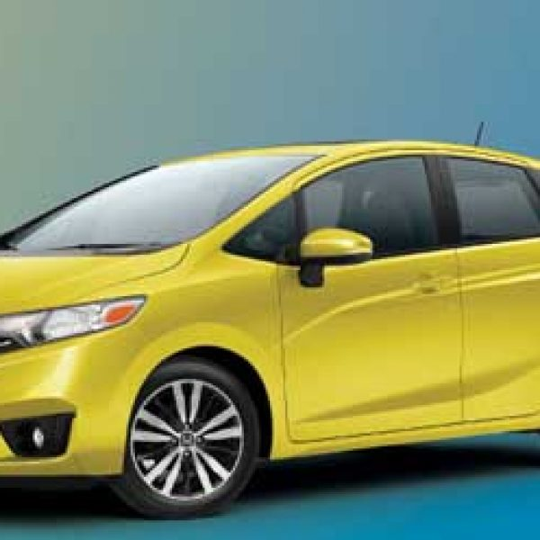 Win a 2015 Honda Fit EX-L & iPad!